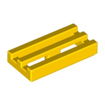 LEGO 241224  GRILLE 1X2 - JAUNE lego-241224-grille-1x2-jaune ici :