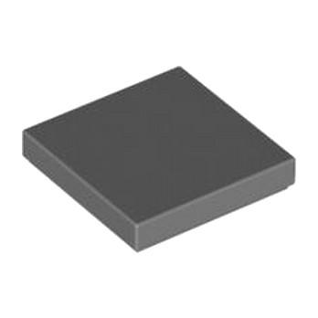 LEGO 4211055 PLATE LISSE 2X2 - DARK STONE GREY