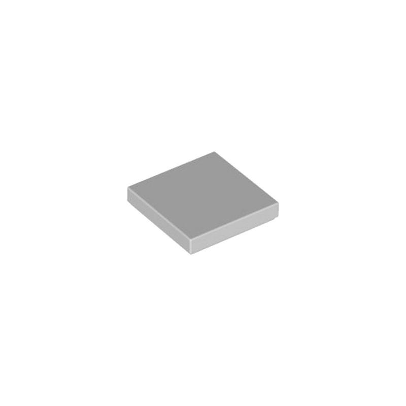 LEGO 4211413 PLATE LISSE 2X2 - MEDIUM STONE GREY