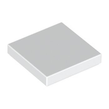 LEGO 306801 PLATE LISSE 2X2 - BLANC