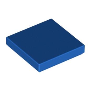 LEGO 306823PLATE LISSE 2X2 - BLEU