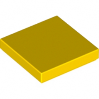 LEGO 306824 PLATE LISSE 2X2 - JAUNE