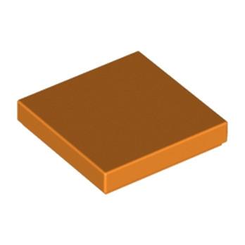 LEGO 4125268 PLATE LISSE 2X2 - ORANGE