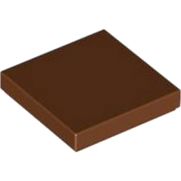 LEGO 4271949 PLATE LISSE 2X2 - REDDISH BROWN