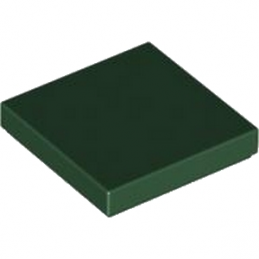 LEGO 4248274 PLATE LISSE 2X2 - EARTH GREEN