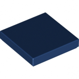 LEGO 4205004 PLATE LISSE 2X2 - EARTH BLUE