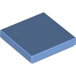 LEGO 4171097 PLATE LISSE 2X2 - MEDIUM BLUE