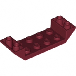 LEGO 6175590 ROOF TILE 2X6 45 DEG - NEW DARK RED