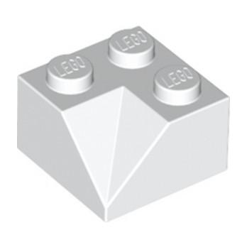 LEGO 6212460 TUILE 2X2/45° INSIDE - BLANC