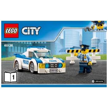 Notice / Instruction Lego City 60138