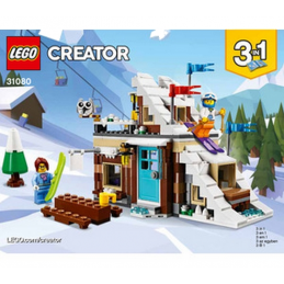 Notice / Instruction Lego Creator 3 en 1 - 31080