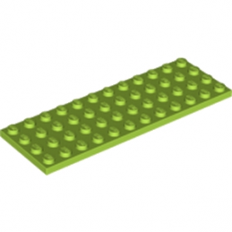 LEGO 6112968 PLATE 4X12 - BRIGHT YELLOWISH GREEN lego-6112968-plate-4x12-bright-yellowish-green ici :