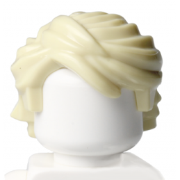 LEGO 6054819 CHEVEUX HOMME - BEIGE