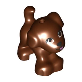 LEGO 6213562 CHIEN - REDDISH BROWN