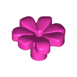 LEGO 6206151 FLEUR W/ 3.2 SHAFT, 1.5 HOLE - ROSE lego-6206151-fleur-w-32-shaft-15-hole-rose ici :