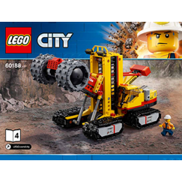 Notice / Instruction Lego City 60188
