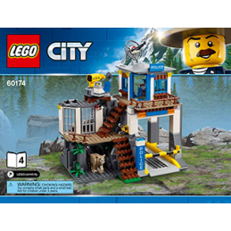 Notice / Instruction Lego City 60174