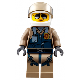 Mini Figurine LEGO® : City - Pilote