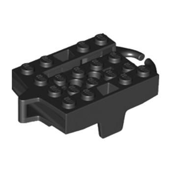 LEGO 6203523 CHASSIS 4X5 POUR RAIL - NOIR