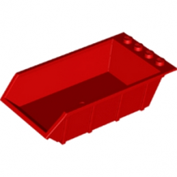 LEGO 6215669 BENNE CAMION 4X6X2 - ROUGE