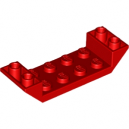 LEGO 6170389 ROOF TILE 2X6 45 DEG - ROUGE