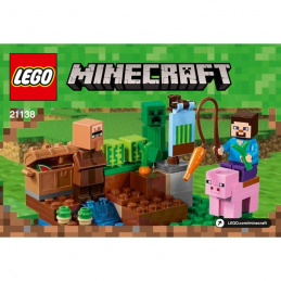 Notice / Instruction Lego  Minecraft 21138
