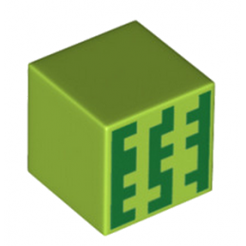 LEGO 6215171  CUBE 2X2 IMPRIME MINECRAFT
