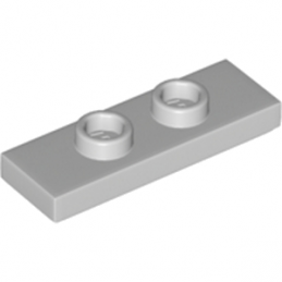 LEGO 6211969 PLATE 1X3 W/ 2 KNOBS - MEDIUM STONE GREY lego-6211969-plate-1x3-w-2-knobs-medium-stone-grey ici :