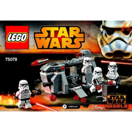 Notice / Instruction Lego Star Wars  75078