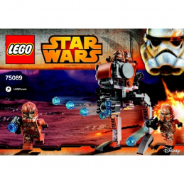 Notice / Instruction Lego Star Wars  75089