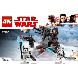 Notice / Instruction Lego Star Wars 75197