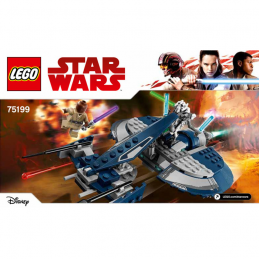 Notice / Instruction Lego Star Wars 75199