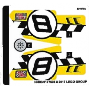 Stickers / Autocollant Lego Technic 42058