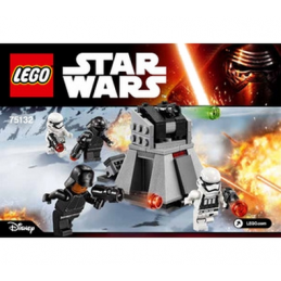 Notice / Instruction Lego Star Wars  75132