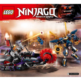 Notice / Instruction Lego Ninjago 70642 notice-instruction-lego-ninjago-70642 ici :