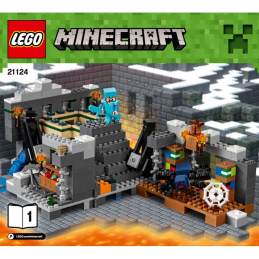 Notice / Instruction Lego  Minecraft 21124