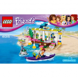 Notice / Instruction Lego Friends 41315