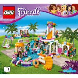 Notice / Instruction Lego Friends 41313