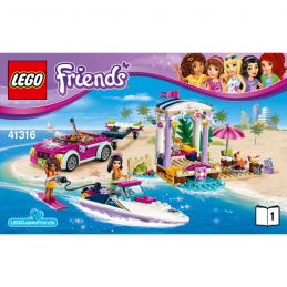 Notice / Instruction Lego Friends 41316