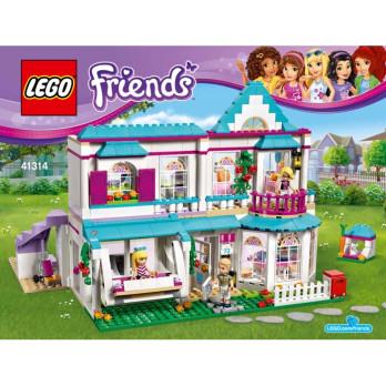 notice instruction lego friends 41314. Black Bedroom Furniture Sets. Home Design Ideas