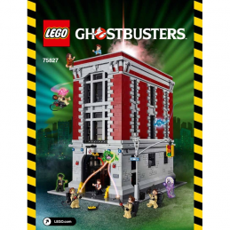 Notice / Instruction Lego ghostuster 75827