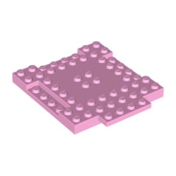 LEGO 6181829 PLAQUE 8X8X6 - ROSE CLAIR