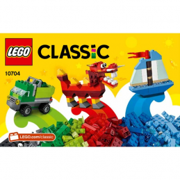 Notice / Instruction Lego Classic 10704