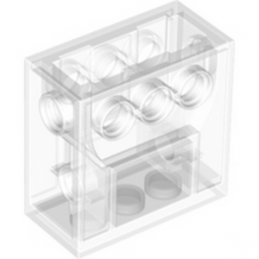 LEGO 4142824 WORM GEAR BLOCK - TRANSPARENT
