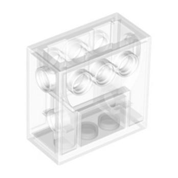 LEGO 4142824 WORM GEAR BLOCK - TRANSPARENT