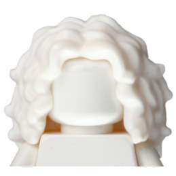 LEGO 6238775 CHEVEUX FEMME LONG - BLANC