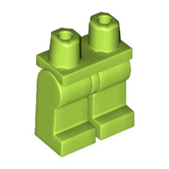 LEGO 6125731 JAMBE - BRIGHT YELLOWISH GREEN