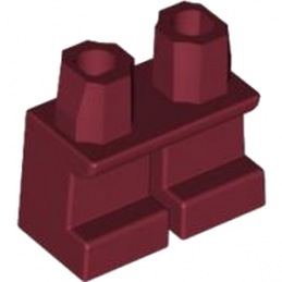 LEGO 4614676 PETITE JAMBE - NEW DARK RED