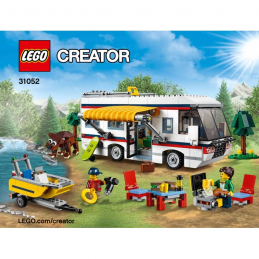 Notice / Instruction Lego Creator - 31052