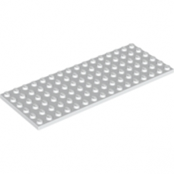 LEGO 6176434 PLATE 6X16 - BLANC